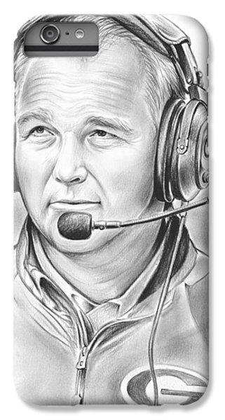 Sports iPhone 7 Plus Case - Mark Richt  by Greg Joens
