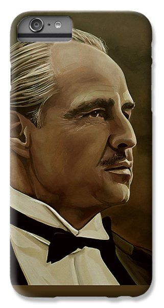 Marlon Brando IPhone 7 Plus Case by Meijering Manupix