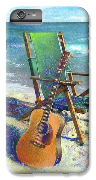 Guitar iPhone 7 Plus Case - Martin Goes To The Beach by Andrew King