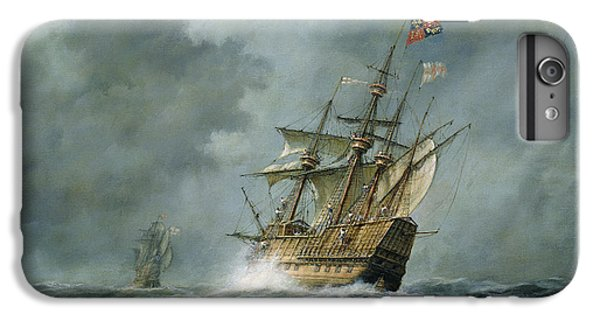 Boats iPhone 7 Plus Case - Mary Rose  by Richard Willis