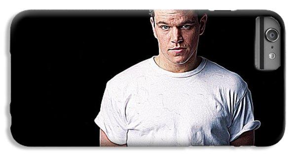 Ben Affleck iPhone 7 Plus Case - Matt Damon by Iguanna Espinosa