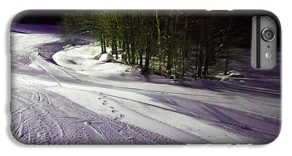 IPhone 7 Plus Case featuring the photograph Mccauley Evening Snowscape by David Patterson