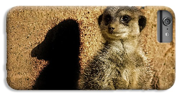 Meerkat iPhone 7 Plus Case - Me And My Shadow by Martin Newman