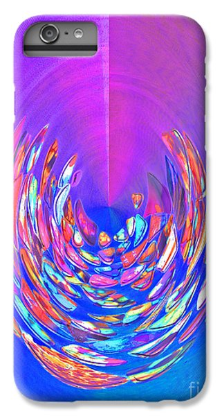 IPhone 7 Plus Case featuring the photograph Meditation In Blue by Nareeta Martin