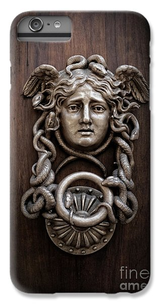 Gorgon iPhone 7 Plus Case - Medusa Head Door Knocker by Edward Fielding