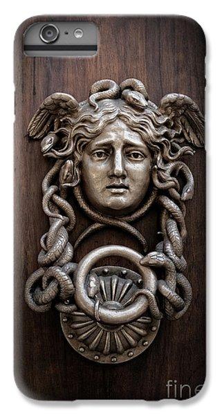 Medusa Head Door Knocker IPhone 7 Plus Case by Edward Fielding