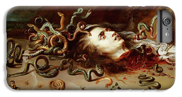 Gorgon iPhone 7 Plus Case - Medusa by Peter Paul Rubens