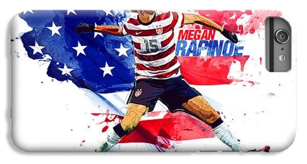 Megan Rapinoe IPhone 7 Plus Case by Semih Yurdabak