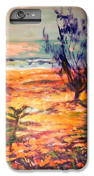 IPhone 7 Plus Case featuring the painting Memory Pandanus by Winsome Gunning