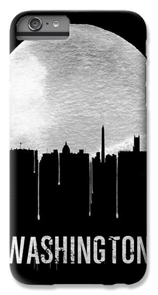 Washington D.c iPhone 7 Plus Case - Memphis Skyline Black by Naxart Studio