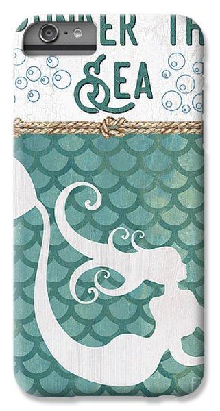 Fairy iPhone 7 Plus Case - Mermaid Waves 2 by Debbie DeWitt