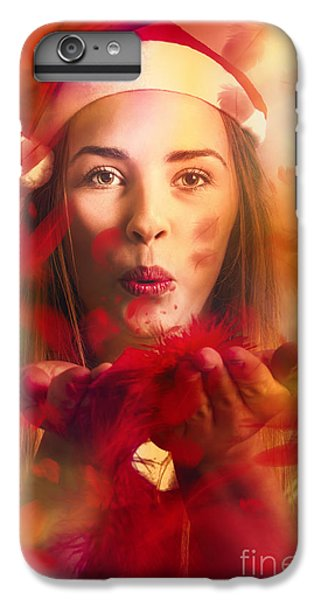 Merry Christmas Elf IPhone 7 Plus Case by Jorgo Photography - Wall Art Gallery