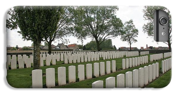 IPhone 7 Plus Case featuring the photograph Messines Ridge British Cemetery by Travel Pics