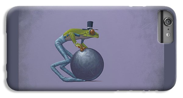 Frogs iPhone 7 Plus Case - Metal Ball by Jasper Oostland