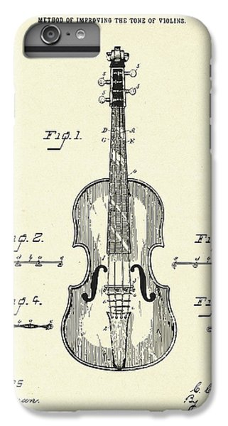 Violin iPhone 7 Plus Case - Method Of Improving The Tone Of Violins-1888 by Pablo Romero