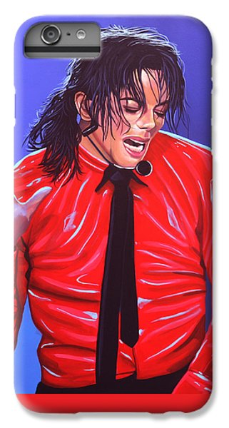 Michael Jackson iPhone 7 Plus Case - Michael Jackson 2 by Paul Meijering