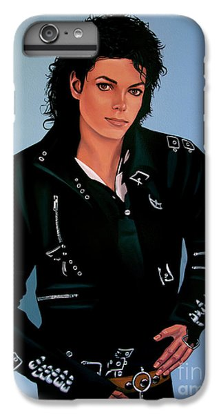 Michael Jackson iPhone 7 Plus Case - Michael Jackson Bad by Paul Meijering