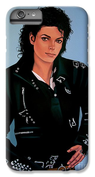 Michael Jackson Bad IPhone 7 Plus Case by Paul Meijering