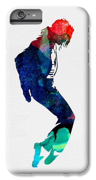 Michael Jackson iPhone 7 Plus Case - Michael Watercolor by Naxart Studio