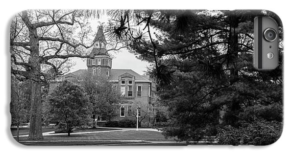 Michigan State University Campus Black And White  IPhone 7 Plus Case by John McGraw