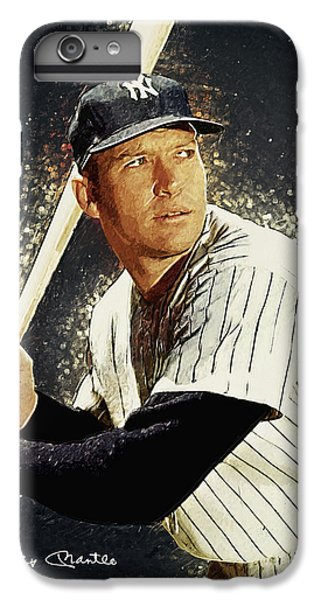 Mickey Mantle IPhone 7 Plus Case