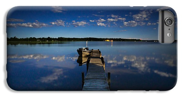 Midnight At Shady Shore On Moose Lake Minnesota IPhone 7 Plus Case by Alex Blondeau