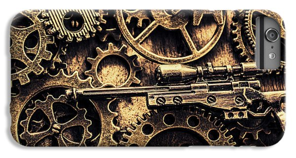 Warfare iPhone 7 Plus Case - Miniature Awm Bolt-action Sniper Rifle  by Jorgo Photography - Wall Art Gallery
