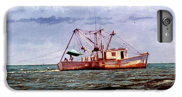 Shrimp Boats iPhone 7 Plus Case - Miss Christy by Randy Welborn