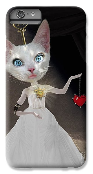 Cuckoo iPhone 7 Plus Case - Miss Kitty by Juli Scalzi