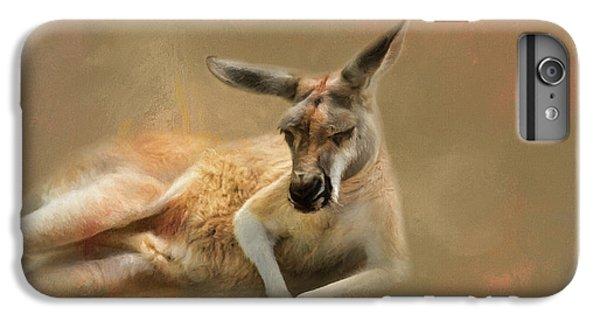 Monday Morning Drowsies Kangaroo Art IPhone 7 Plus Case by Jai Johnson