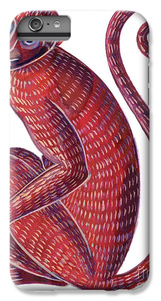 Monkey IPhone 7 Plus Case by Jane Tattersfield
