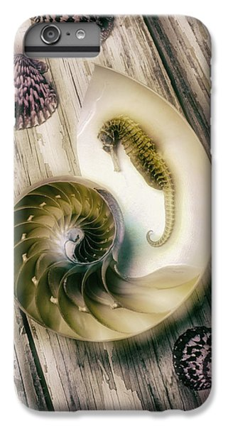 Moody Seahorse IPhone 7 Plus Case by Garry Gay