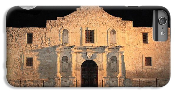 The Moon iPhone 7 Plus Case - Moon Over The Alamo by Carol Groenen