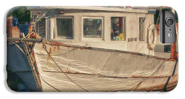 Shrimp Boats iPhone 7 Plus Case - Moon Pie by Michael Thomas