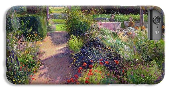 Garden iPhone 7 Plus Case - Morning Break In The Garden by Timothy Easton