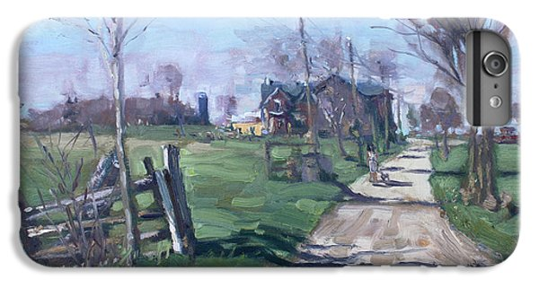 Georgetown iPhone 7 Plus Case - Morning In The Farm Georgetown by Ylli Haruni