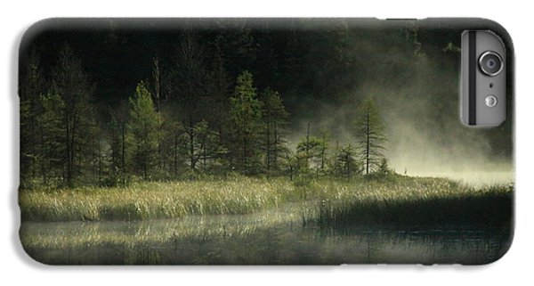 Lake Superior iPhone 7 Plus Case - Morning Mist On The Gunflint Trail by Joi Electa