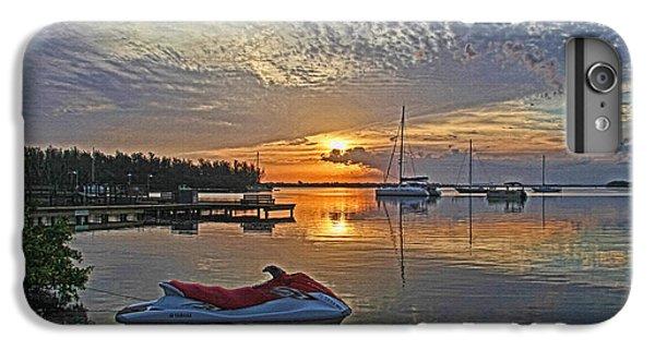 Jet Ski iPhone 7 Plus Case - Morning Peace - Florida Sunrise by HH Photography of Florida