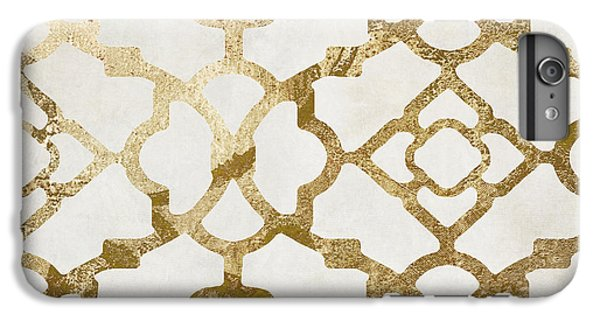 Pattern iPhone 7 Plus Case - Moroccan Gold I by Mindy Sommers