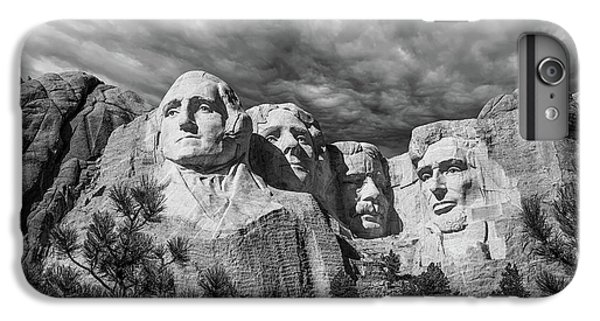 Thomas Jefferson iPhone 7 Plus Case - Mount Rushmore II by Tom Mc Nemar