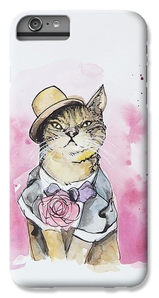 Mr Cat In Costume IPhone 7 Plus Case by Venie Tee