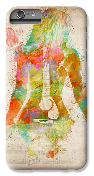 Bass iPhone 7 Plus Case - Music Was My First Love by Nikki Marie Smith