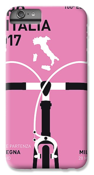 My Giro Ditalia Minimal Poster 2017 IPhone 7 Plus Case by Chungkong Art