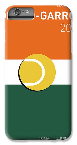 My Grand Slam 02 Rolandgarros 2017 Minimal Poster IPhone 7 Plus Case by Chungkong Art