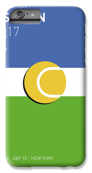 My Grand Slam 04 Us Open 2017 Minimal Poster IPhone 7 Plus Case by Chungkong Art