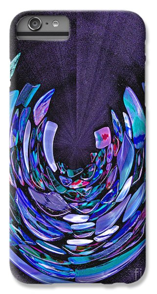 IPhone 7 Plus Case featuring the photograph Mystery In Blue And Purple by Nareeta Martin