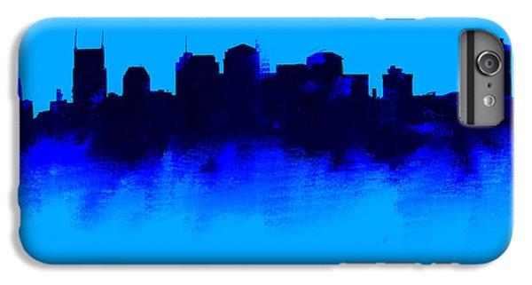 Nashville  Skyline Blue  IPhone 7 Plus Case by Enki Art