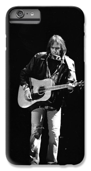 Neil Young IPhone 7 Plus Case by Wayne Doyle