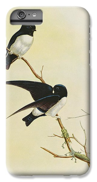 Swallow iPhone 7 Plus Case - Nepal House Martin by John Gould