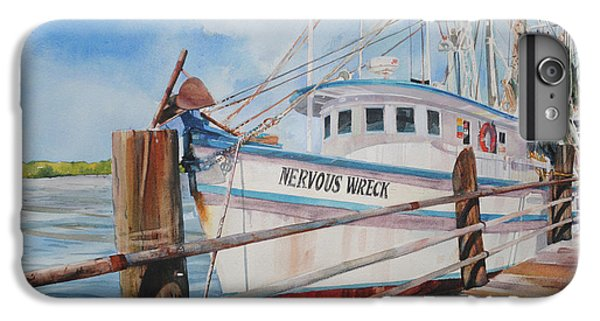 Shrimp Boats iPhone 7 Plus Case - Nervous Wreck by P Anthony Visco